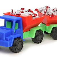 Small Toy Dump Truck Trailer 3D Printing 29913