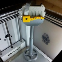 Small MonoPod for Raspberry with cam 3D Printing 29915