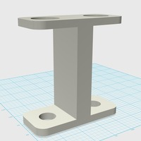 Small CAM-Source 3D: (2) Toothbrush Holder 3D Printing 29938