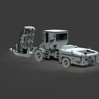 Small Drill Rig 3D Printing 299403