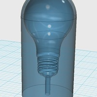 Small CAM-Source 3D: Encapsulated Lightbulb 3D Printing 29941