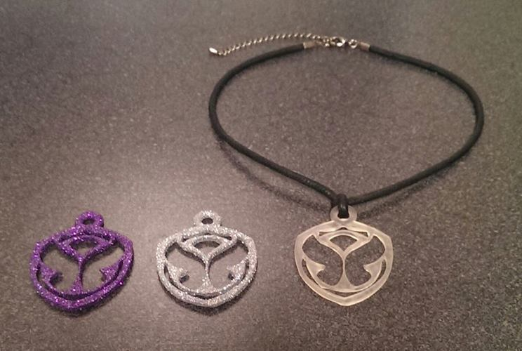 MakerTree 3D: TomorrowWorld/ TomorrowLand necklace pendant 3D Print 29956