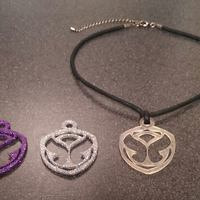 Small MakerTree 3D: TomorrowWorld/ TomorrowLand necklace pendant 3D Printing 29956