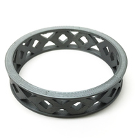 Small Crosshatch Bracelet 3D Printing 29967