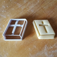 Small Bible cookie cutter 3D Printing 299710