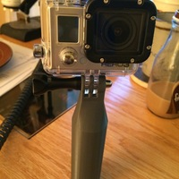 Small GoPro Scuba Handle - Optimized for 3D Printing 3D Printing 29999