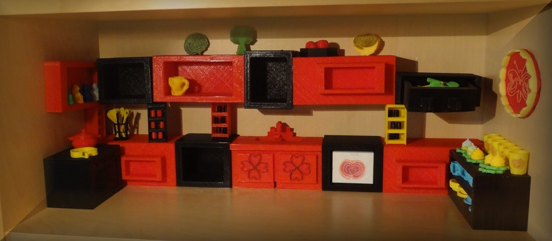 3D printed Kitchen project 3D Print 30028