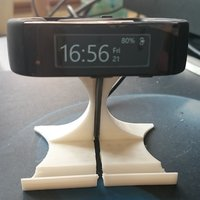 Small Stand For Microsoft Band 3D Printing 30060