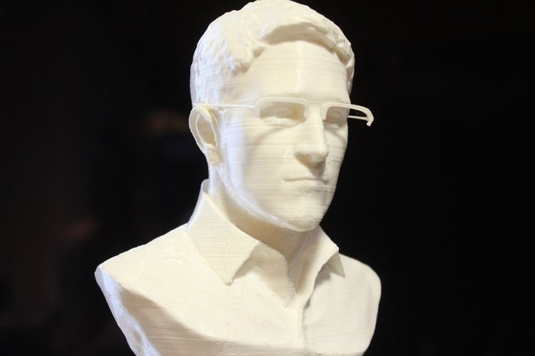 Snowden glasses (separated for easier printing) 3D Print 30073