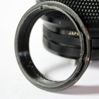 Small Canon FD lens adapter for GuerillaBeam 3D Printing 30075