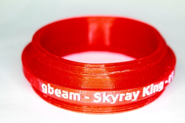 GuerillaBeam adapter for Skyray King flashlight 3D Print 30089