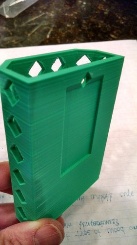 Locker Pencil Cup 3D Print 30115