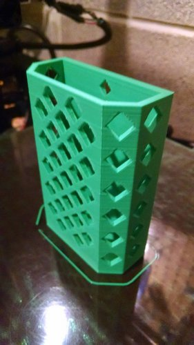 Locker Pencil Cup 3D Print 30116