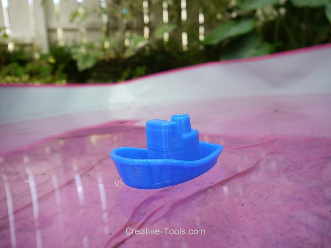 Toy Boat 3D Print 30175