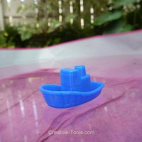Small Toy Boat 3D Printing 30175