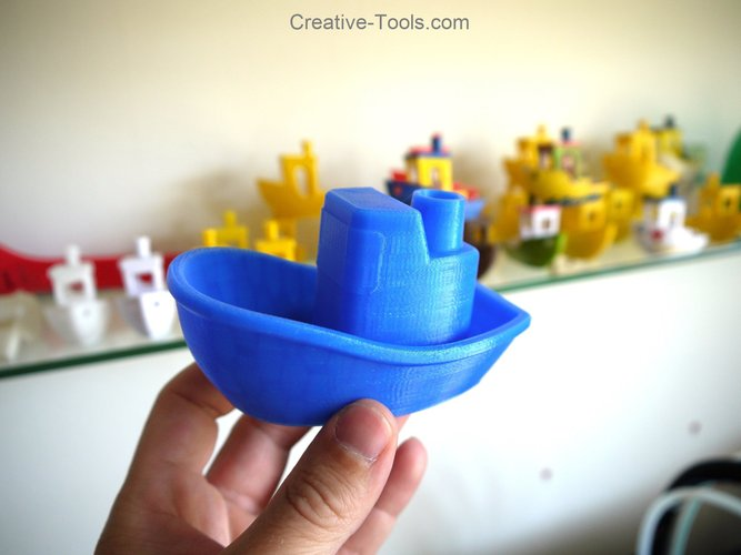 Toy Boat 3D Print 30176