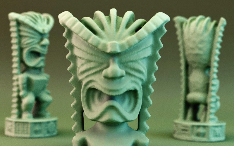 Tiki God of Money 3D Print 30191