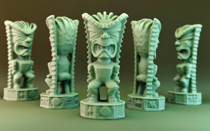 Tiki God of Money 3D Print 30192