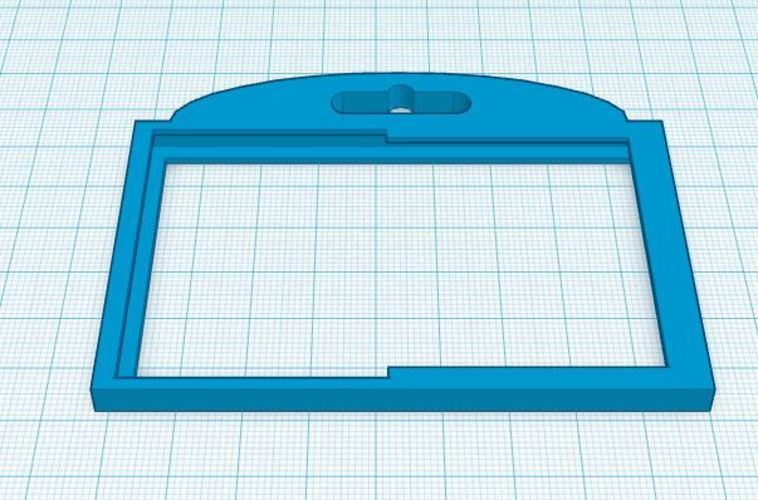 Double ID Badge Holder 3D Print 30226