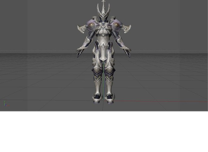 guardian deity general trasformation from aion elios model. from 3D Print 30243