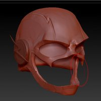 Small the Flash helmet 3D Printing 30273