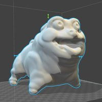 Small Awesome Pug 3D Printing 30274