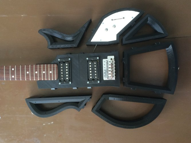 Electric Guitar 3D Print 30292