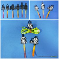 Small Minions Cable Holder 3D Printing 30305