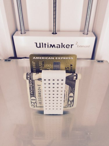 Double Money Clip 3D Print 30343