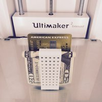 Small Double Money Clip 3D Printing 30343