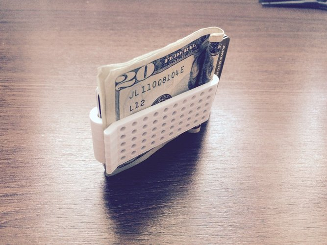 Double Money Clip 3D Print 30346