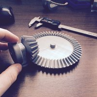 Small Bevel Gear Toy Set, 17/51 Tooth or 3:1 Ratio 3D Printing 30350