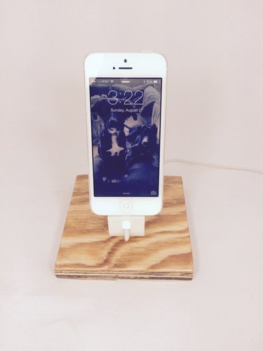 The Ess, Apple Lightning Cord Charging Dock for iPhone 5/5S/ 3D Print 30356