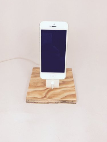 The Ess, Apple Lightning Cord Charging Dock for iPhone 5/5S/ 3D Print 30358