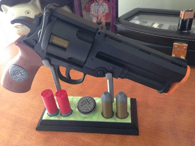 Hellboy PROP display stand 3D Print 30408