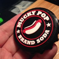 Small Custom Soda Cap for Store Display 3D Printing 30422