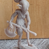 Small Goblin with lyraxe2 3D Printing 304463