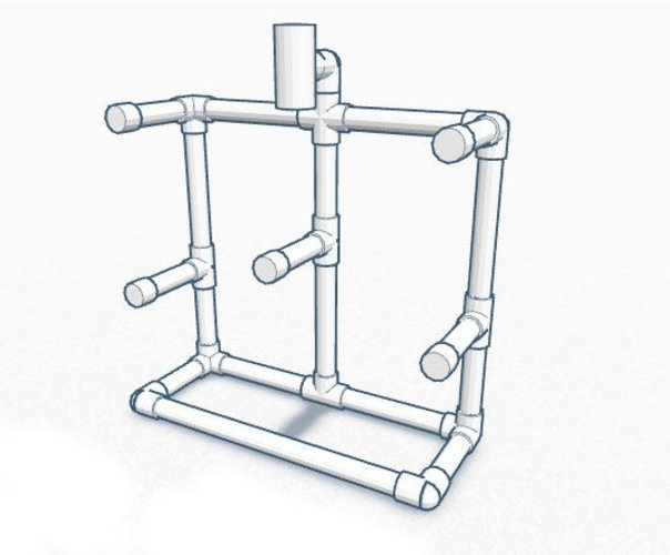 Feederbot (DIY Filament Rack) 3D Print 30450