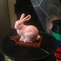 Small Easter Bunny and Candy Bar 3D Printing 30452