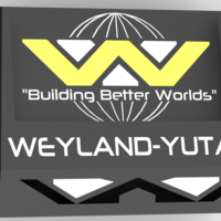 Small Weyland-Yutani inspired stand for Sony Xperia Z1 3D Printing 30855
