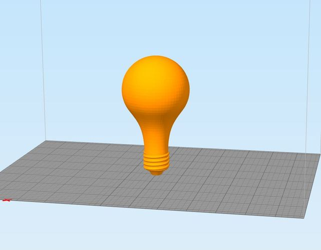 3D Printed Light Bulb 3D Print 30953