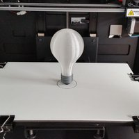 Small 3D Printed Light Bulb 3D Printing 30954