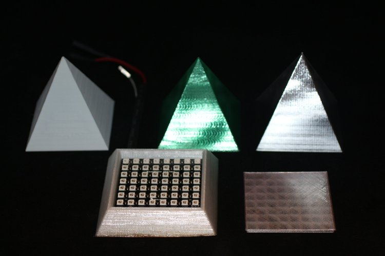 Pyramid Power IOT LED Light 3D Print 30975