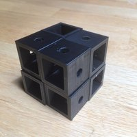 Small The Quasar Puzzle v2 3D Printing 31087