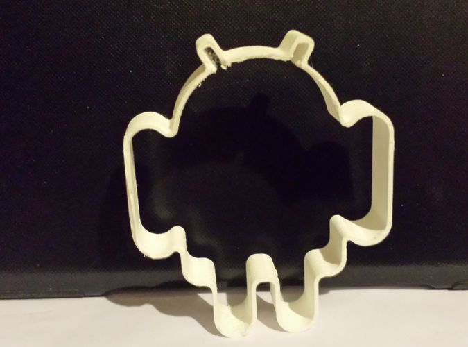 Android cookie cutter 3D Print 31201