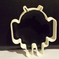 Small Android cookie cutter 3D Printing 31201