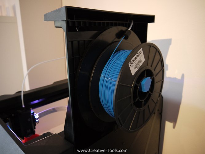 Replicator Desktop Spool Holder 3D Print 31401