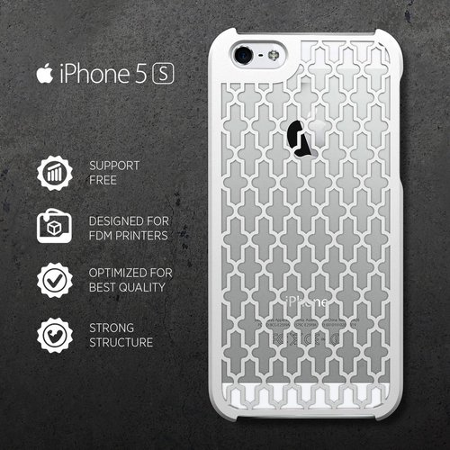iPHONE 5/S CASE 3D Print 31403