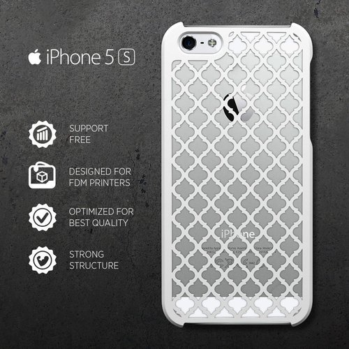 iPHONE 5/S CASE (2) 3D Print 31406