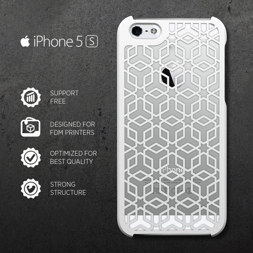 iPHONE 5/S CASE (3) 3D Print 31409